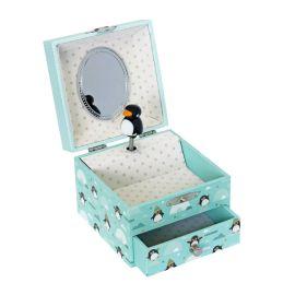 TROUSSELIER- Boîte à musique pingouin
