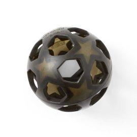 HEVEA - Ballon étoile en caoutchouc noir