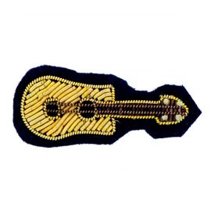 Broche guitare sèche