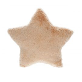 Petit coussin étoile nude
