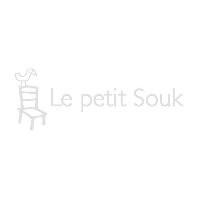 Petit tapis à poils longs rose