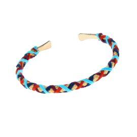 Bracelet jonc indien or et rouge