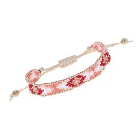 Bracelet brésilien perles rose