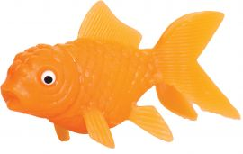 Petit poisson en plastique orange