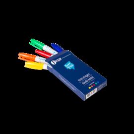 Boîte de 5 feutres pour silicone