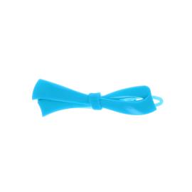 Barrette noeud bleue
