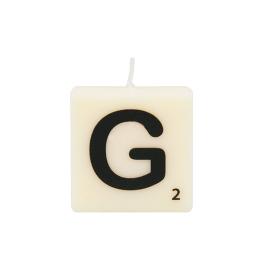Bougie lettre G