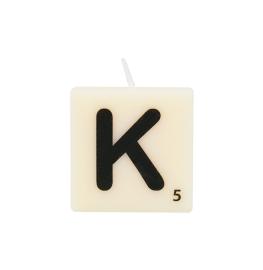 Bougie lettre K
