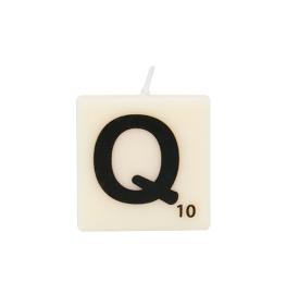 Bougie lettre Q