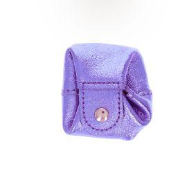 Bourse violet pailleté