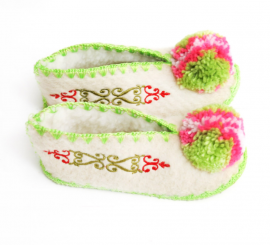Chaussons naissance Liv taille 16