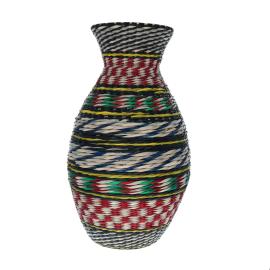 Grand vase tresse