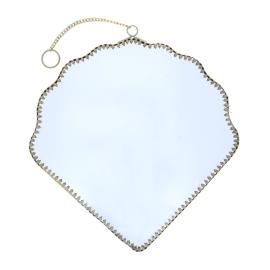Grand miroir forme coquillage