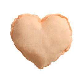 Petit coussin coeur d'argile