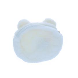 Porte monnaie chat blanc