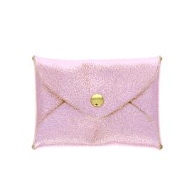 Porte monnaie enveloppe rose