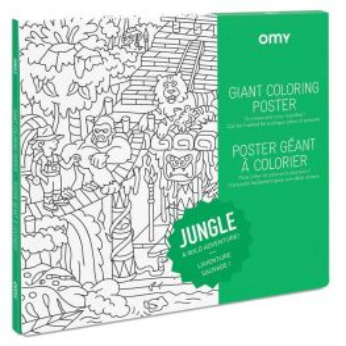 OMY - Poster géant jungle