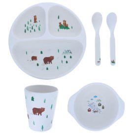 Set de vaisselle ours