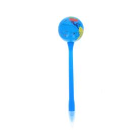 Stylo mappemonde bleue