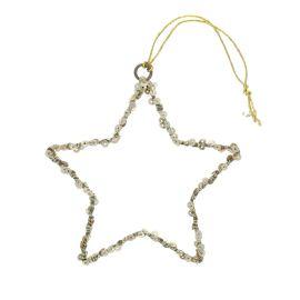 Petite suspension étoile sequins