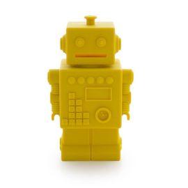 Tirelire robot Mr Robert Jaune